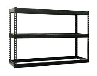 "Bulk Shelving Racks with Particle Board Decking - 60""W x 84""H - 3 Shelves Option Image"
