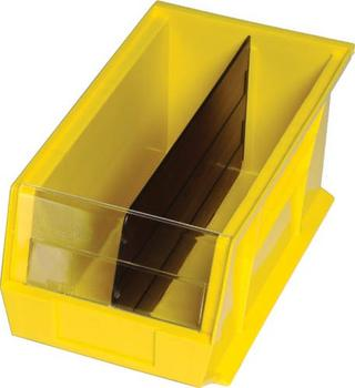 "48"" Wide Heavy-Duty All-Welded Bin Cabinets Complete Option Image"