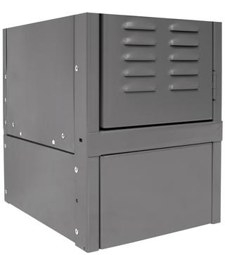 ValueMax Triple Tier Lockers - 3 Openings - 1-Wide Option Image