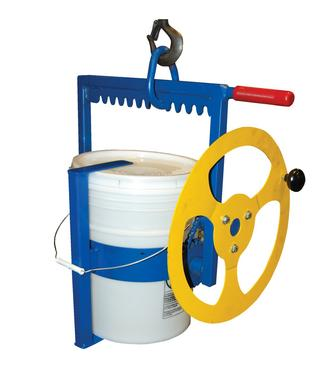 Hoist Mounted Pail Carrier and Rotator Option Image