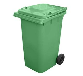 Fork Truck Mounted Trash Can Dumper Option Image