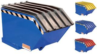 Self-Dumping Steel Hoppers with Bumper Release - Light Duty Option Image