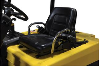 Cloth Fork Truck Seats with Seat Belt Option Image