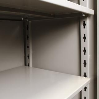 "1114 All-Welded Storage Cabinet - Diamond Perf Doors - 36"" x 21"" x 82"" Option Image"