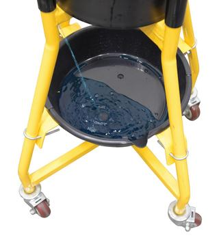 Ergonomic Elevated Bucket and Pail Dolly Option Image