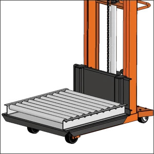 PST Series Telescoping Mast Pallet Stackers Option Image