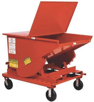 Self Dumping Forklift Hoppers - Medium Duty Option Image