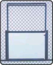 Partitions - 1.5 inch Diamond Mesh Option Image