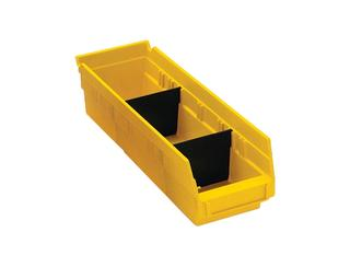"Economy 4"" Shelf Bin Steel Shelving Option Image"