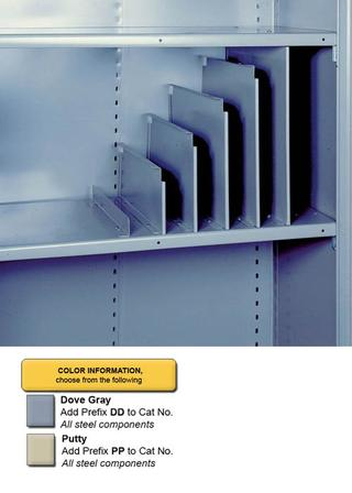 "38-Compartment Bin Shelf Unit - 36"" x 12"" x 84"" Option Image"