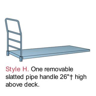PB1112 Wood in Steel Platform Trucks Option Image