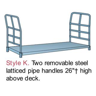 PB1058 Wood in Steel Platform Trucks Option Image