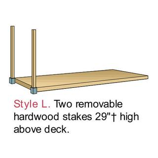 PB1120 Wood in Steel Tilt-Type Platform Trucks Option Image