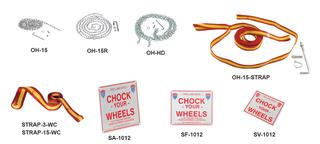 Steel Wheel Chocks Option Image