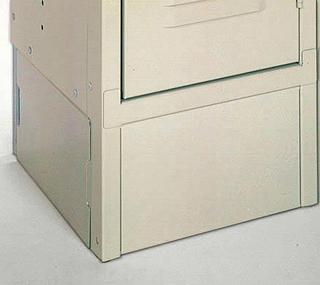 "Standard Double Tier Steel Lockers - 12"" x 12"" x 78"" Option Image"