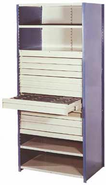"36 Inch Wide 8000 Series Counter Shelving - 36""W x 18""D x 39""H Option Image"