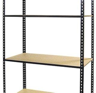 "Boltless Shelving Units - 4 Shelf - 48""W x 24""D x 84""H Option Image"