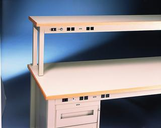 Technical Workstations with Power Rail and Fixed Legs Option Image
