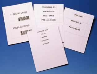 HOL-DEX Removable Self-Adhesive Label Holders Option Image