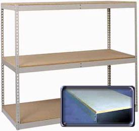 Pre-Engineered 84 inch High Rivet Rack - 4 Level HD Beam Option Image