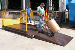 Premium Truck Scissor Dock Lifts - 10000 lb. Capacity Option Image