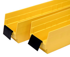 "High Density Wire Storage Systems with Economy 4"" Shelf Bins Option Image"