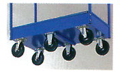 Four and Five-Tray Steel Angle Frame Carts Option Image